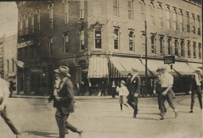 Patterson Block circa 1900.