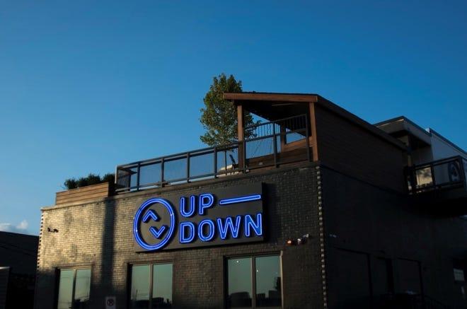 Up-Down arcade bar at 927 Woodland St. in East Nashville, Tenn.