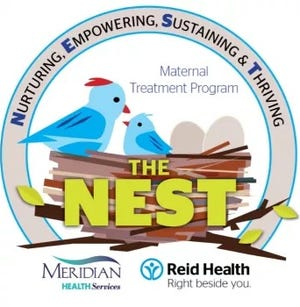 The Nest is a maternal treatment program for pregnant women and new mothers.