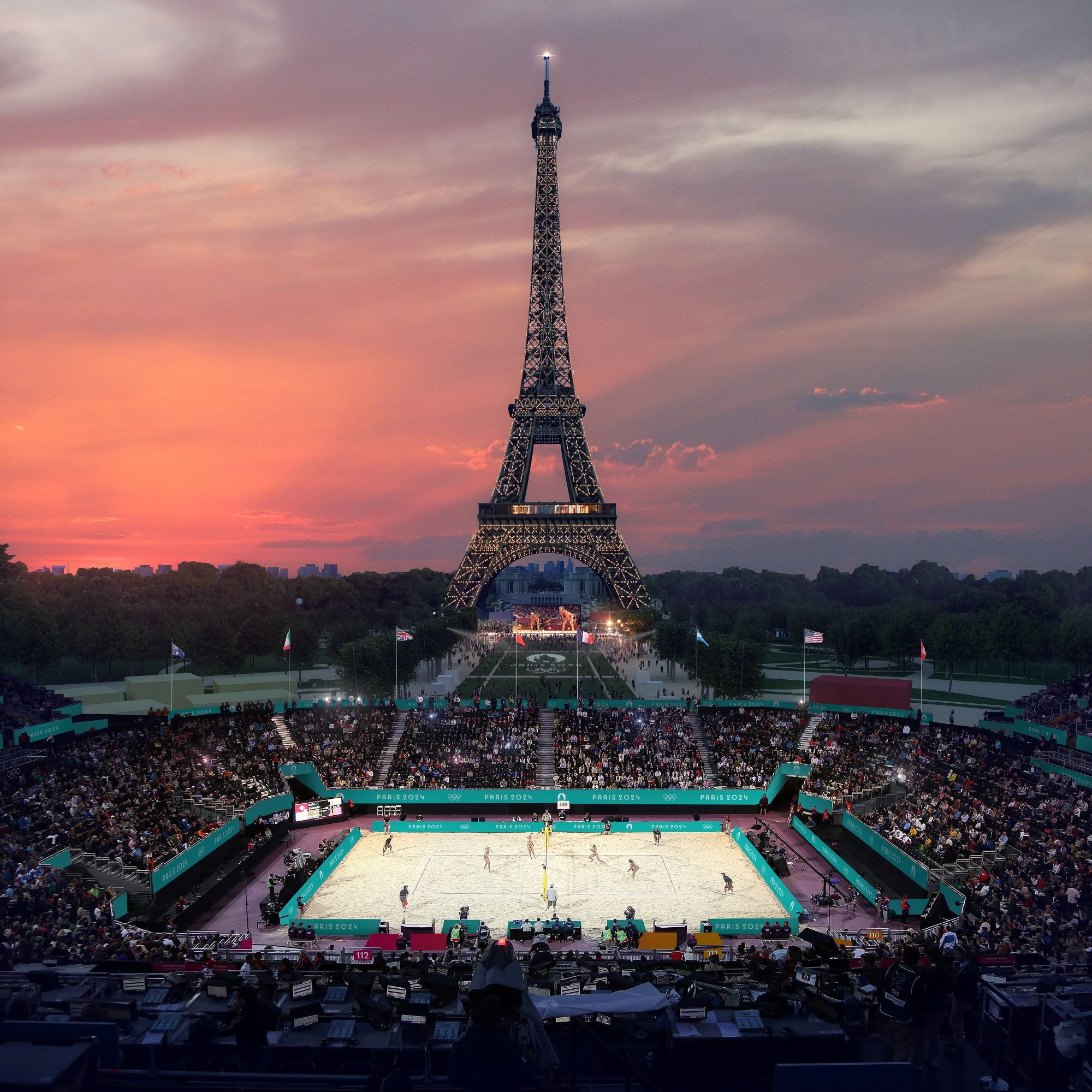 20 Olympics to feature Paris landmarks, including Eiffel Tower