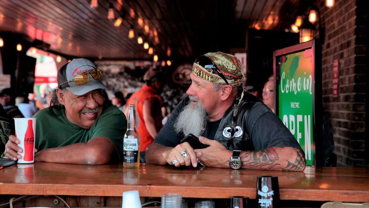 'You cannot stop it': Massive Sturgis Motorcycle Rally in South Dakota raises COVID-19 worries again