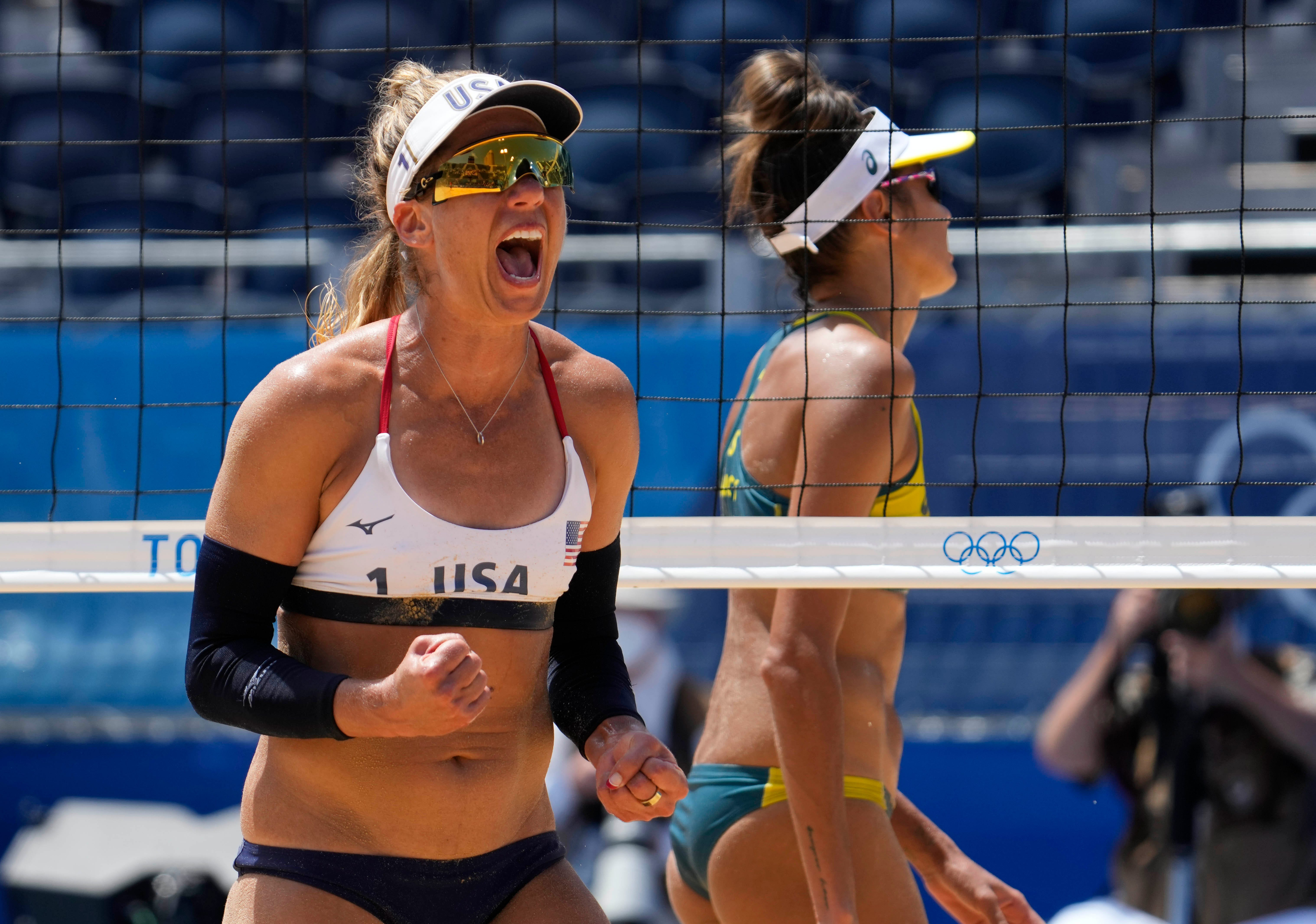 Tokyo Olympics live updates: USA s April Ross, Alix Klineman cruise to beach volleyball gold medal