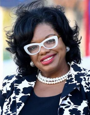 Jacksonville City Council member Ju'Coby Pittman, who also is chief executive officer and president of the Clara White Mission downtown.