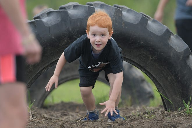 Photos from Saturday's Kids Mini Mud Mile, organized by the Kirksville Parks & Recreation Department. More than 330 kids participated in the muddy obstacle course.