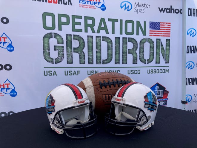 Operation Gridiron's goal is to raise $100,000 for the USVCC over Enshrinement Week