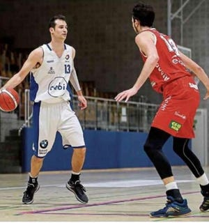 Adam Eberhard looks for an opening playing professionally in Luxembourg. He is currently a grad assistant coach at the University of Tennessee.