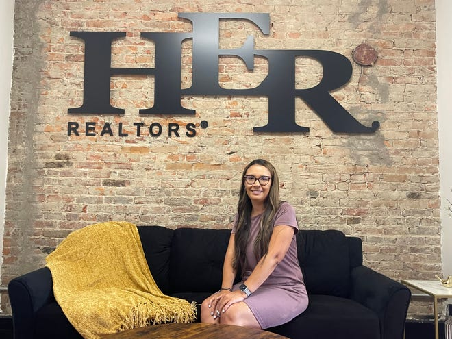 Melissa Rodgers of HER REALTORS began selling real estate in 2018 in Marion after first starting her career in nursing.