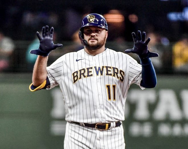The Brewers hope to get Rowdy Tellez back before the end of the season.