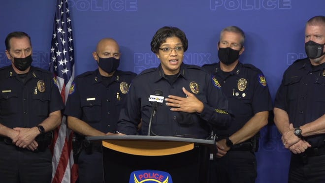 Some are calling for Phoenix Police Chief Jeri Williams' resignation. She needs to go - but doing it now helps no one.