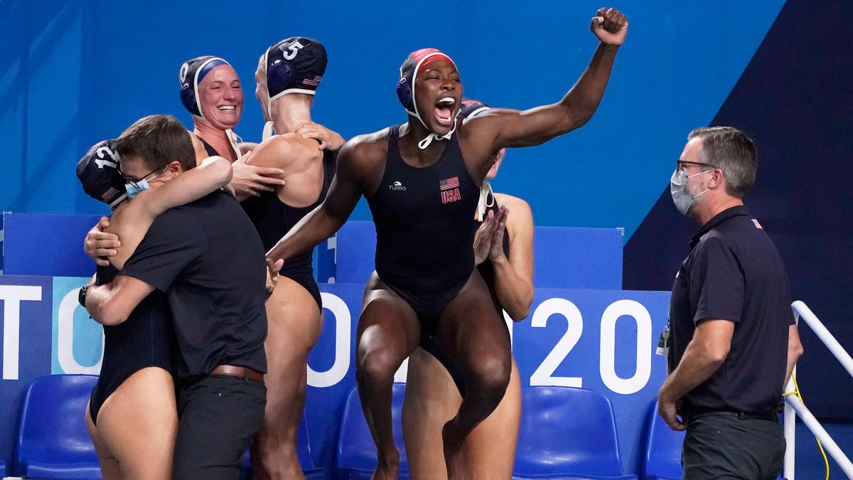 'Palpable in the water:' US women's water polo looks to its leader in gold-medal moment