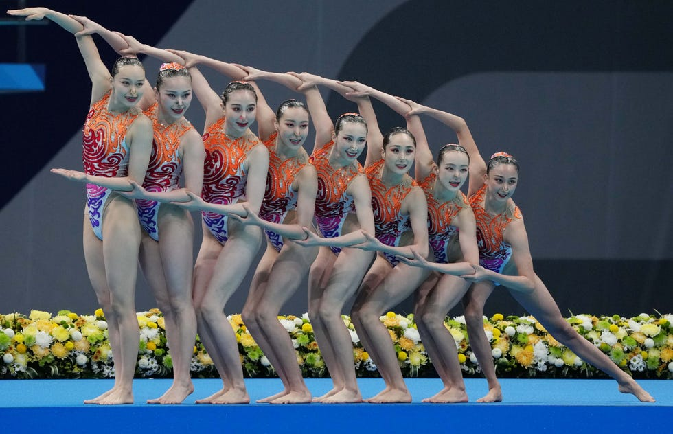 Creative swimming on the 2021 Summer time Olympics in pictures
