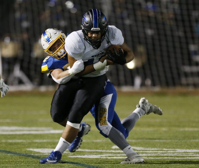 Junior Marcus Gipson is expected to be a key player for Worthington Kilbourne at running back and linebacker.