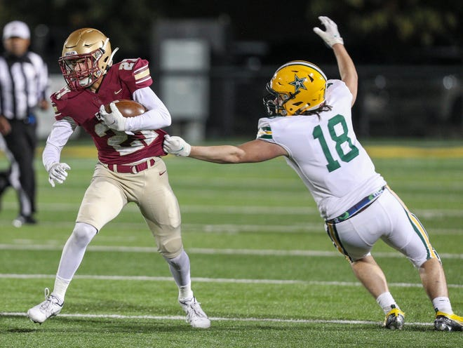 Junior Brandon Trout returns for Watterson after catching 32 passes for 432 yards and three touchdowns last season.