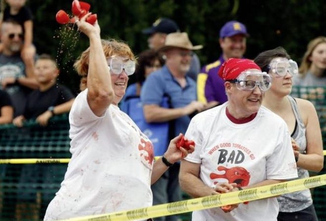 Get ready for Tomato Wars at the Reynoldsburg Tomato Festival