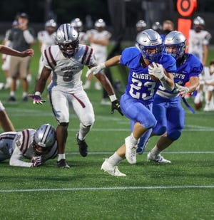 Junior Brian Fitzsimmons is among the Silver Knights' top returnees after rushing for 655 yards and 13 touchdowns last season.