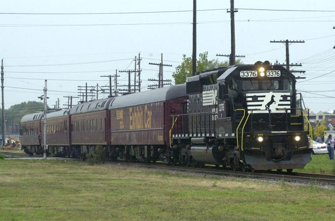 A hearing impaired man was struck and killed by a Norfolk Southern train as he walked on the tracks near Dundee.