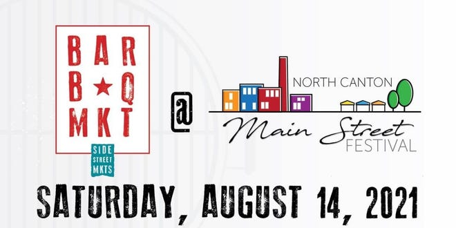 The North Canton Main Street Festival on Saturday features music, food, vendors and a new barbecue-themed market component.