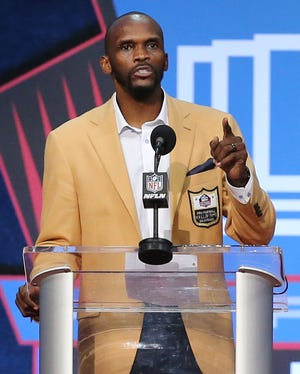 Isaac Bruce was enshrined in the Pro Football Hall of Fame at Tom Benson Hall of Fame Stadium on Saturday, August 7, 2021. Bruce was presented by brother Sam Bruce.
