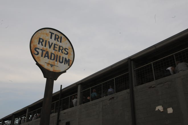 The Tri-Rivers Stadium potentially hosted its final event Saturday night.