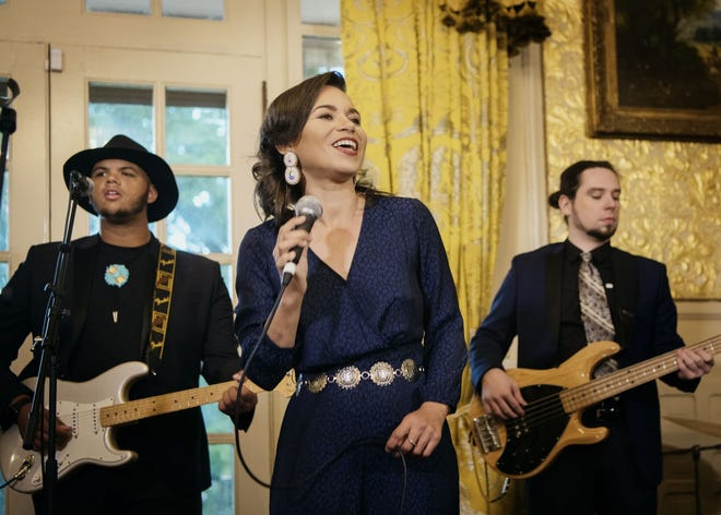 Charly Lowry, Robeson County native and member of the Lumbee Tribe of North Carolina, will perform in downtown Fayetteville and headline the Lumbee Film Festival on her Royal Splendor Tour.