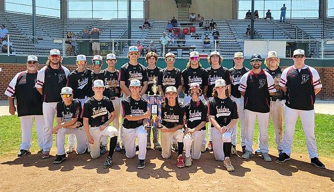 The Funkstown Junior Legion baseball team won the Maryland state championship with a 5-3 victory over La Plata at Joe Cannon Stadium on Sunday.
