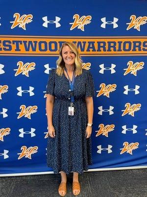 Westwood girls golf coach Ellie Ricks