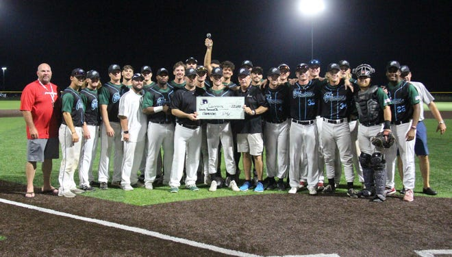 Kansas Cannons winning the inaugural Summerball Showdown and $20,000