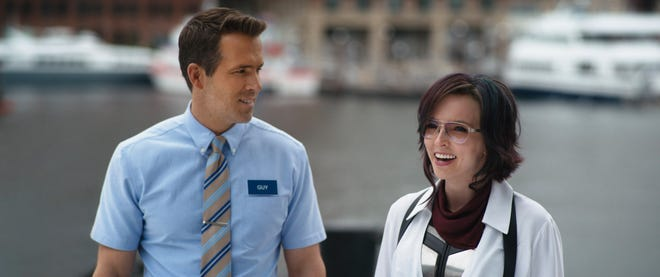 """Ryan Reynolds and Jodie Comer star in """"Free Guy."""""""
