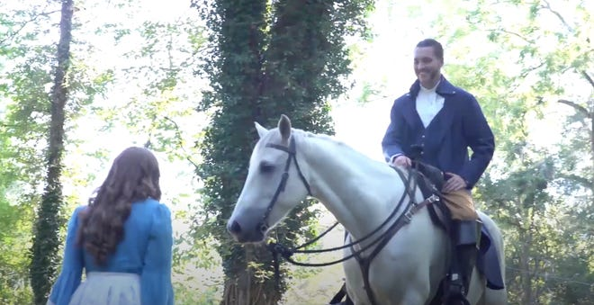 A clip from Donna Hughes's new music video on Naomi Wise, a Randolph County historical figure. Depicted here is a fictional encounter between Jonathan Lewis and Naomi Wise in the 1800s.