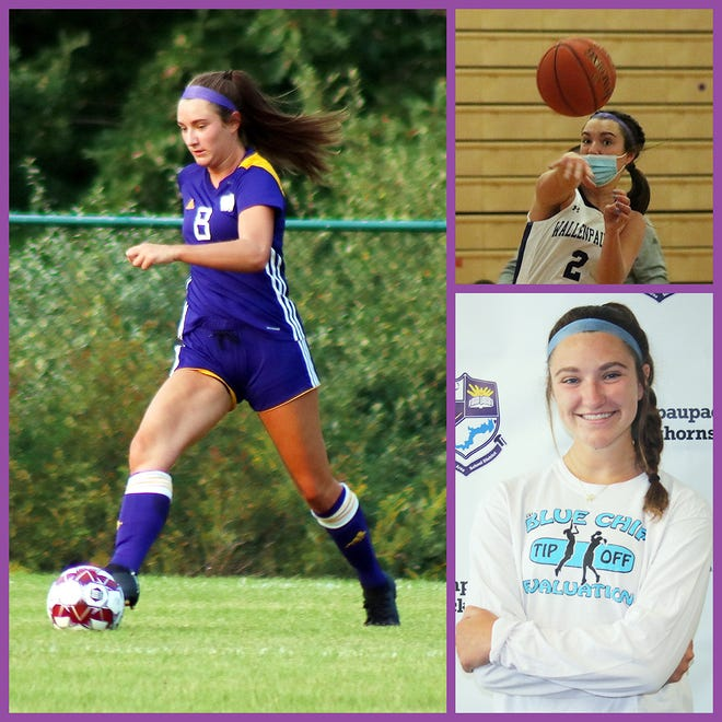 Wallenpaupack Area's Devon Kiesendahl is primed for a solid run in three sports. The Lady Buck senior has been a staple in the soccer, basketball, and track and field line-ups since freshman year and is anticipating much growth among her three teams this coming year.