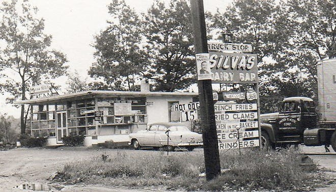 Silva's Dairy Bar as seen on the old Route 2 (now Route 2A) in Westminster.
