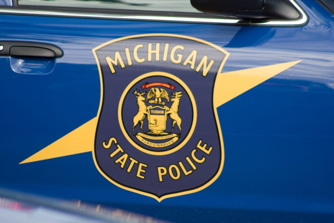 Michigan State Police announced the arrest of a Kimball Township man for possession of child sexually abusive material and using a computer to commit a crime in an Aug. 25 press release.