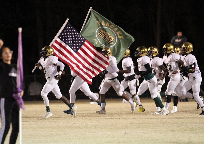 Kinston High and other teams from Lenoir County have several big football games on the schedule for the 2021 fall season. [FILE PHOTO]