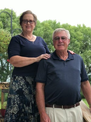 Donald and Jennifer Helm are celebrating their 50th wedding anniversary.