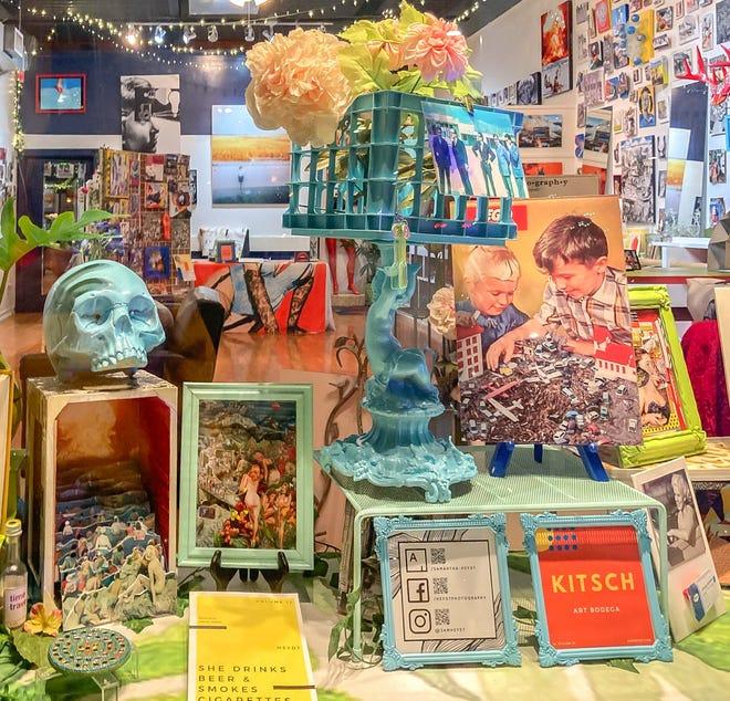 "Artist Sam Heydt calls her new store, Kitsch, an ""art bodega."""