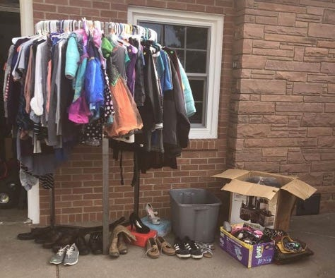 Get rid of good-used items on citywide garage sale day August 21 in Pratt.