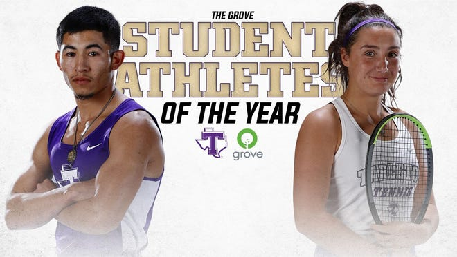 Tarleton Athletics has announced thatKevin Baezof Tarleton Cross Country and Track and Field andMartha Makantasiof Tarleton Tennis are the recipients of the fourth-annual Tarleton Student-Athletes of the Yearaward, presented by The Grove.