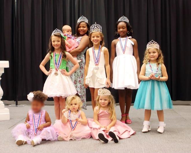 Little Miss American Legion World Series queens were crowned Saturday.