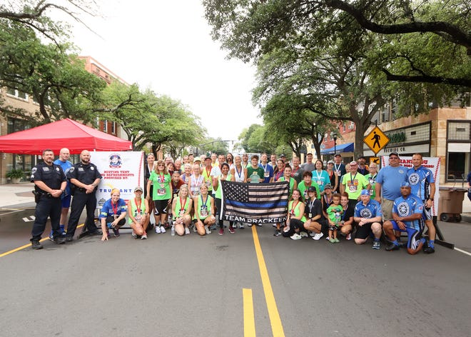 Runners from around the region participated in the Road to Hope 7th Inning Stretch 5K.