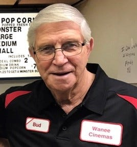 Wanee Theatre owner Bud Johnson will lead the 2021 Hog Days parade.