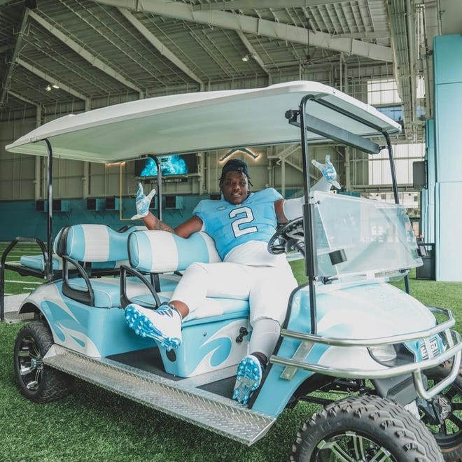 Five-star 2022 Grimsley defensive lineman Travis Shaw visited UNC for its July 31 Carolina Cookout recruiting event. Shaw, the No. 4 rising senior in the nation per 247Sports composite rankings, verbally committed to the Tar Heels over Clemson, Georgia and N.C. A&T on Aug. 21.
