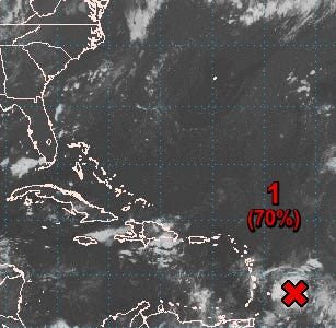 It looks like we won't have to wait much longer for Fred, per the NHC.