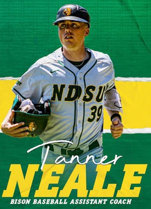Tanner Neale, a 2011 Watertown High School graduate, has been hired as a full-time assistant coach for the 2022 season at NCAA Division I North Dakota State University in Fargo, N.D.