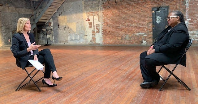 Kym Worthy sits with NBC's Kate Snow for an interview.