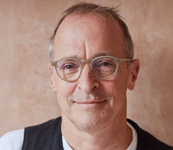 """David Sedaris, a best-selling author, humorist, and contributor to """"This American Life."""""""