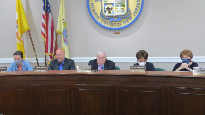 The Parsippany-Troy Hills Council votes to introduce a long-delayed 2021 municipal budget on August 9, 2021.