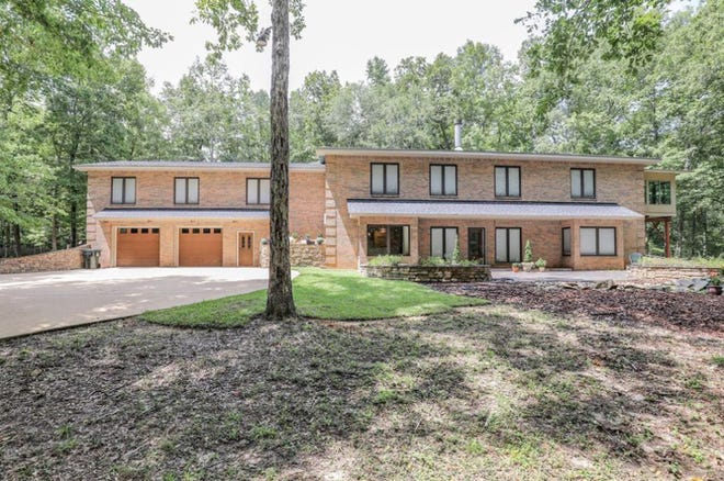 A Mill Creek Road home and about 6 acres are on the market for $1.1 million. The home, located east of Highway 231 in Wetumpka, contains six bedrooms and five bathrooms within 6,000 square feet of living space.