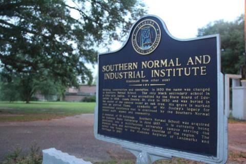 The Southern Normal School, located in Brewton and owned by Alabama State University, is the oldest Black boarding school in the state.