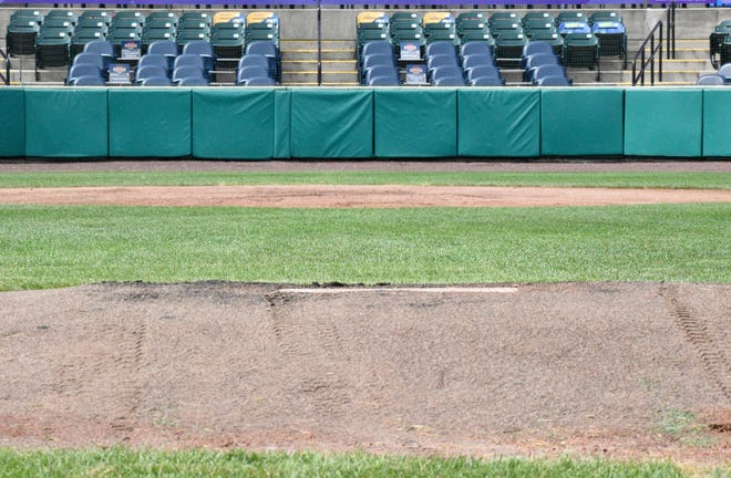 The pitching mound at PeoplesBank Park has been moved back 12 inches to 61 feet, 6 inches as part of an agreement between MLB and the Atlantic League.