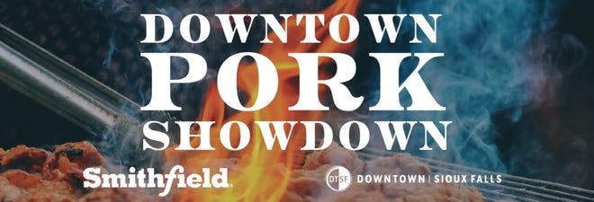 Downtown Pork Showdown starts Sept. 3 at 16 participating restaurants.